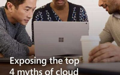 Exposing the Top 4 Myths of Cloud Security