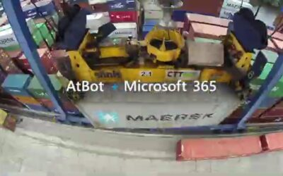 Combi Terminal Twente accelerates shipping operations AI-trained AtBot in Teams