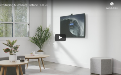 Surface Hub 2S: Teamwork without boundaries